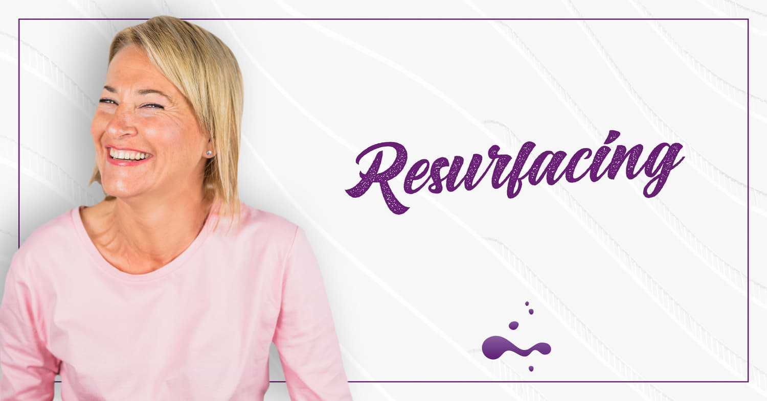 RESURFACING com laser ablativo